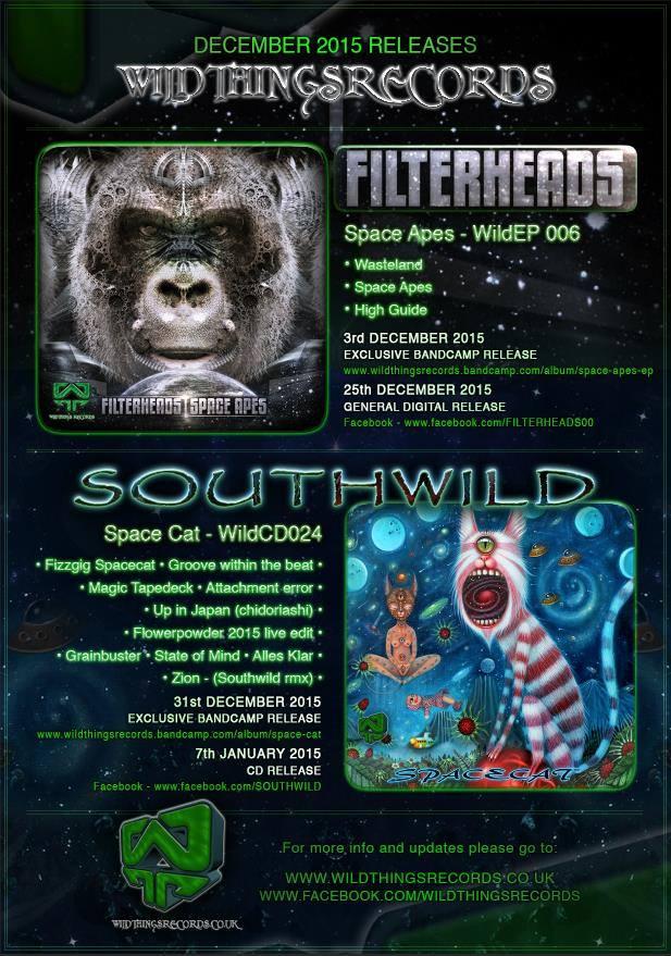 Filterheads EP & Southwild album